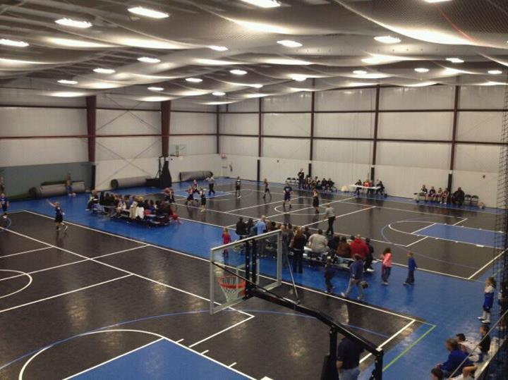 Indoor athletic flooring kcr enterprises llc for Build indoor basketball court
